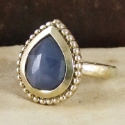 Blue Sapphire India Ring by Alexis Dove