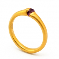 Gold Alexandrite Ring