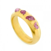 Raw Ruby Crystal Ring