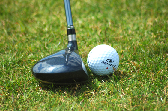 "The work we posted is a derivative of ""Golf Club Against Ball"" (http://goo.gl/WnKnnE) by Wojciech Kulicki (http://goo.gl/omb29h), used under CC BY 4.0. ""Golf Club Against Ball"" is licensed under CC BY 4.0 by F&L Designer Guides."