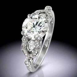 Vintage Art Deco Style engagement ring