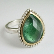 Green Tourmaline by Alexis Dove