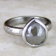 Indian Rose Grey Diamond by Alexis Dove